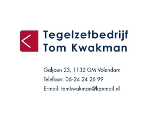 Tegelzetbedrijf Tom Kwakman